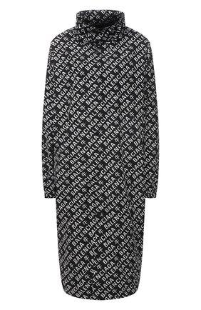 Женский плащ BALENCIAGA черно-белого цвета, арт. 646924/TJLA2 | Фото 1