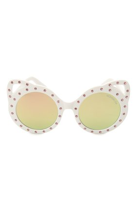 Детские очки MONNALISA красного цвета, арт. 997036   Фото 2 (Материал: Пластик)