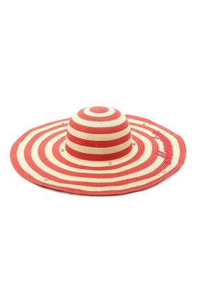 Детская шляпа MONNALISA красного цвета, арт. 997031 | Фото 1
