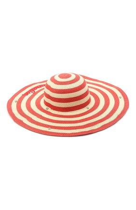 Детская шляпа MONNALISA красного цвета, арт. 997031 | Фото 2