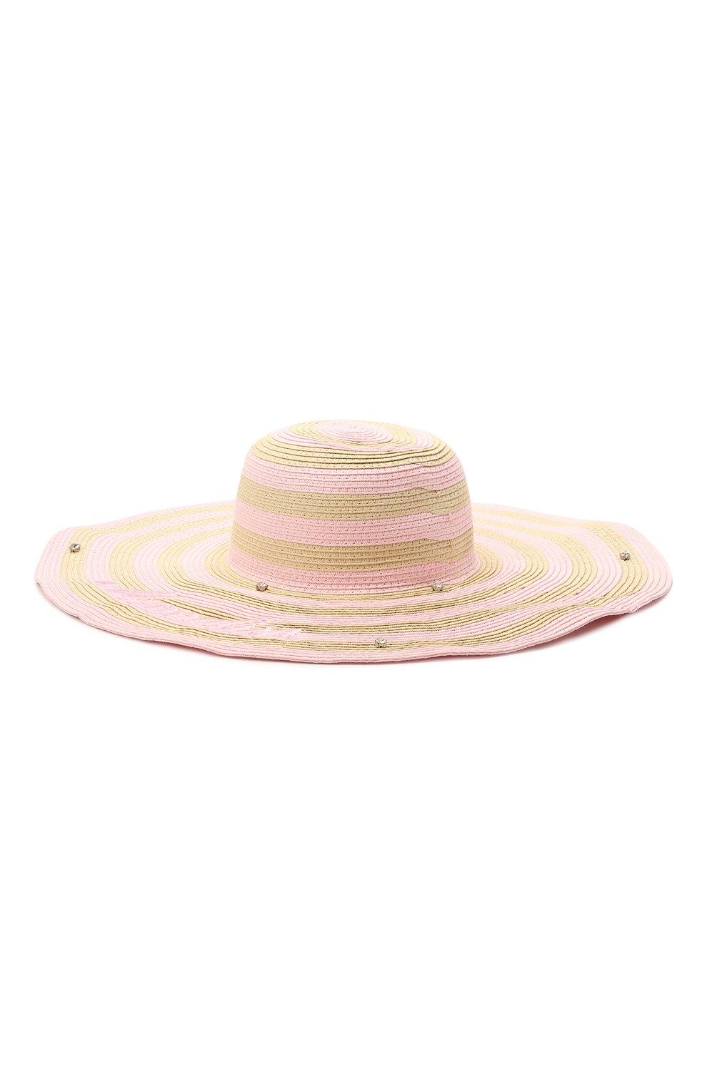 Детская шляпа MONNALISA разноцветного цвета, арт. 997031   Фото 2