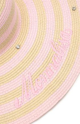 Детская шляпа MONNALISA разноцветного цвета, арт. 997031   Фото 3