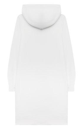 Детское хлопковое платье POLO RALPH LAUREN белого цвета, арт. 313837221 | Фото 2