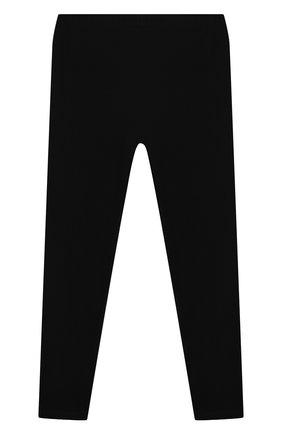 Детские хлопковые леггинсы POLO RALPH LAUREN черного цвета, арт. 313552479/006 | Фото 2