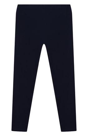 Детские хлопковые леггинсы POLO RALPH LAUREN синего цвета, арт. 313552479/004 | Фото 2