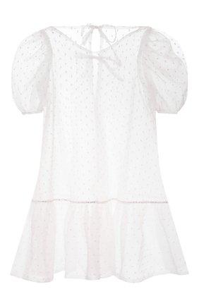 Детское платье DESIGNERS CAT белого цвета, арт. 100000K01000752/4A-8A | Фото 2