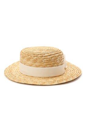 Детская шляпа DESIGNERS CAT бежевого цвета, арт. 100000K01000731/50-54 | Фото 2