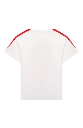 Детская хлопковая футболка FENDI белого цвета, арт. JFI221/7AJ/3A-6A | Фото 2