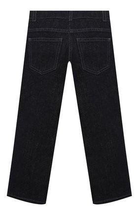 Детские джинсы FENDI темно-синего цвета, арт. JUF033/AEY3/3A-6A   Фото 2