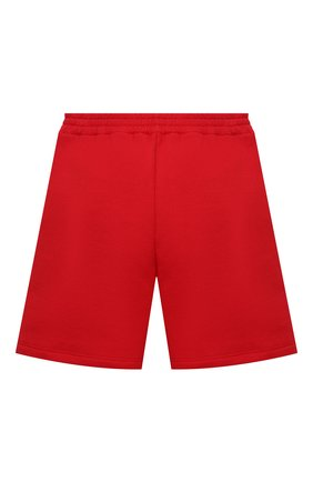 Детские хлопковые шорты GUCCI красного цвета, арт. 646401/XJC7B   Фото 2 (Материал внешний: Хлопок; Ростовка одежда: 10 - 11 лет   140 - 146см, 4 года   104 см, 5 лет   110 см, 6 лет   116 см, 8 лет   128 см)