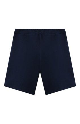 Детские хлопковые шорты GUCCI синего цвета, арт. 646401/XJC7B   Фото 2