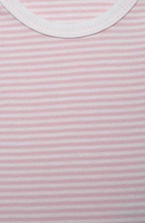 Детское комплект из трех боди KISSY KISSY розового цвета, арт. 38483 | Фото 3