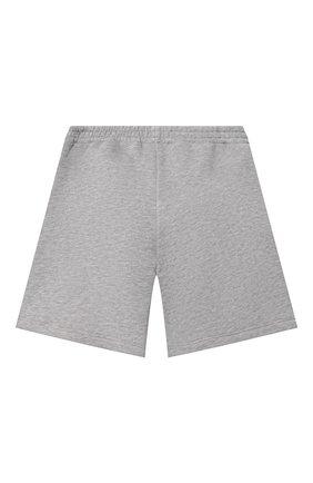 Детские хлопковые шорты GUCCI светло-серого цвета, арт. 646401/XJC7B   Фото 2