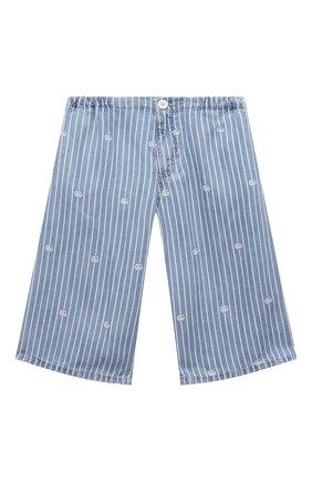 Детские джинсовые шорты GUCCI голубого цвета, арт. 645455/XDBJQ   Фото 1