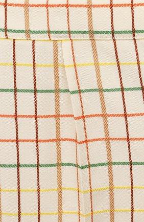 Детские шерстяные шорты GUCCI разноцветного цвета, арт. 644642/XWAMR | Фото 3