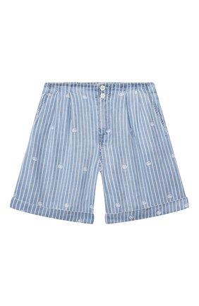 Детские джинсовые шорты GUCCI голубого цвета, арт. 642807/XDBJQ | Фото 1