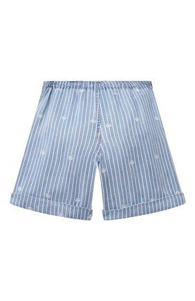 Детские джинсовые шорты GUCCI голубого цвета, арт. 642807/XDBJQ | Фото 2