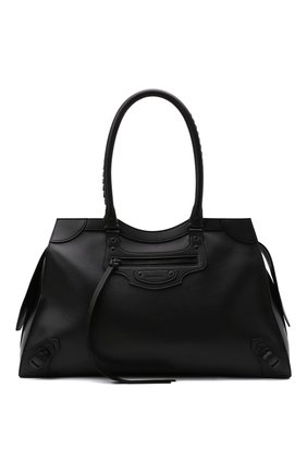 Женская сумка neo classic BALENCIAGA черного цвета, арт. 638531/15Y47 | Фото 1 (Материал: Натуральная кожа; Сумки-технические: Сумки top-handle; Размер: large)