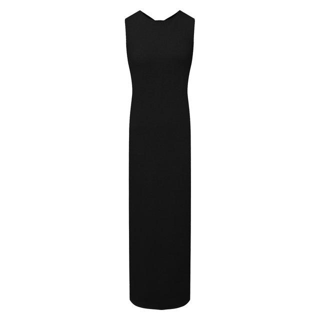 Платье из хлопка и вискозы Jil Sander