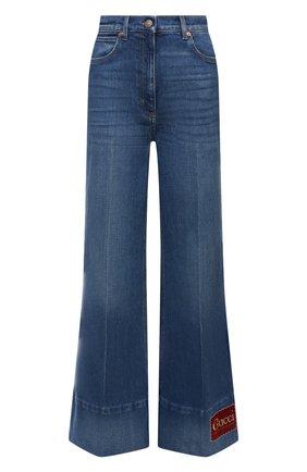 Женские джинсы GUCCI синего цвета, арт. 623441/XDA6N | Фото 1