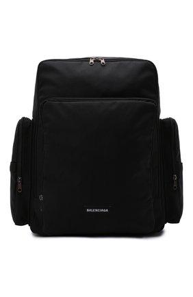 Мужской текстильный рюкзак skate BALENCIAGA черного цвета, арт. 644036/2JM8X   Фото 1