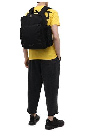 Мужской текстильный рюкзак skate BALENCIAGA черного цвета, арт. 644036/2JM8X   Фото 2