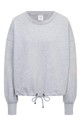 Женский хлопковый свитшот BOGNER серого цвета, арт. 86216678 | Фото 1