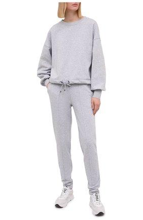 Женский хлопковый свитшот BOGNER серого цвета, арт. 86216678 | Фото 2