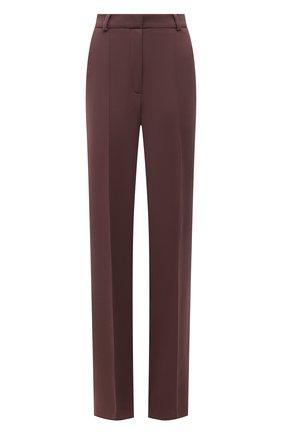 Женские брюки из вискозы LESYANEBO разноцветного цвета, арт. SS21/Н-157_2 | Фото 1 (Длина (брюки, джинсы): Удлиненные; Материал внешний: Вискоза; Стили: Кэжуэл; Силуэт Ж (брюки и джинсы): Прямые; Женское Кросс-КТ: Брюки-одежда)