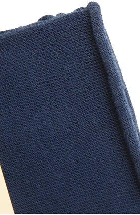 Женские хлопковые носки happy FALKE синего цвета, арт. 46417 | Фото 2