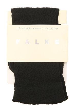Женские носки FALKE черного цвета, арт. 41440 | Фото 1