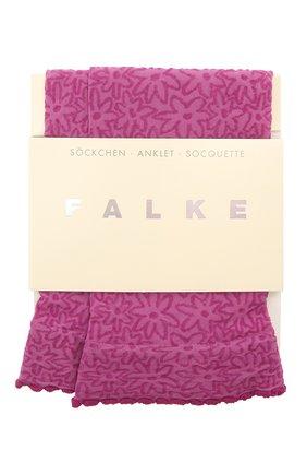 Женские носки FALKE фиолетового цвета, арт. 41440 | Фото 1