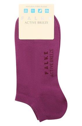 Женские носки active breeze FALKE фиолетового цвета, арт. 46124 | Фото 1