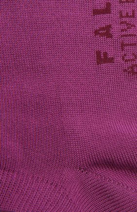 Женские носки active breeze FALKE фиолетового цвета, арт. 46124 | Фото 2