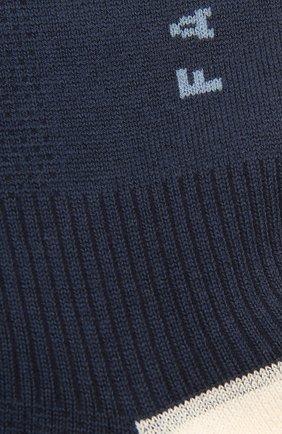 Женские хлопковые носки FALKE темно-синего цвета, арт. 46410 | Фото 2