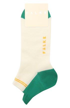 Женские хлопковые носки FALKE белого цвета, арт. 46410 | Фото 1