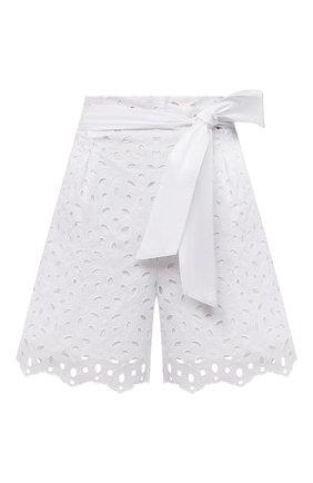 Женские шорты D.EXTERIOR белого цвета, арт. 52686 | Фото 1