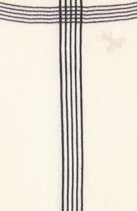 Женские шелковые носки ANTIPAST кремвого цвета, арт. KT-142ES   Фото 2