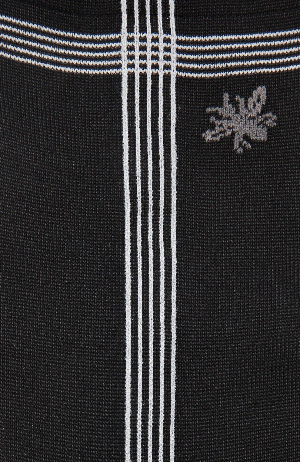 Женские шелковые носки ANTIPAST черного цвета, арт. KT-142ES | Фото 2