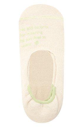 Женские льняные подследники ANTIPAST кремвого цвета, арт. HA-17S   Фото 1