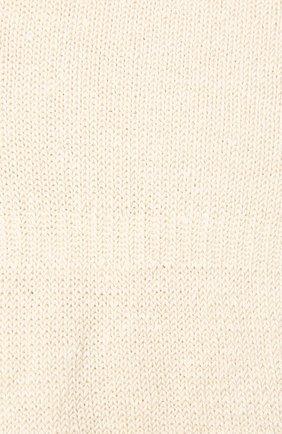 Женские льняные подследники ANTIPAST кремвого цвета, арт. HA-17S   Фото 2