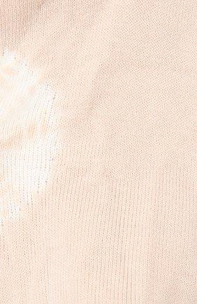 Женские хлопковые носки ANTIPAST бежевого цвета, арт. AS-201S | Фото 2