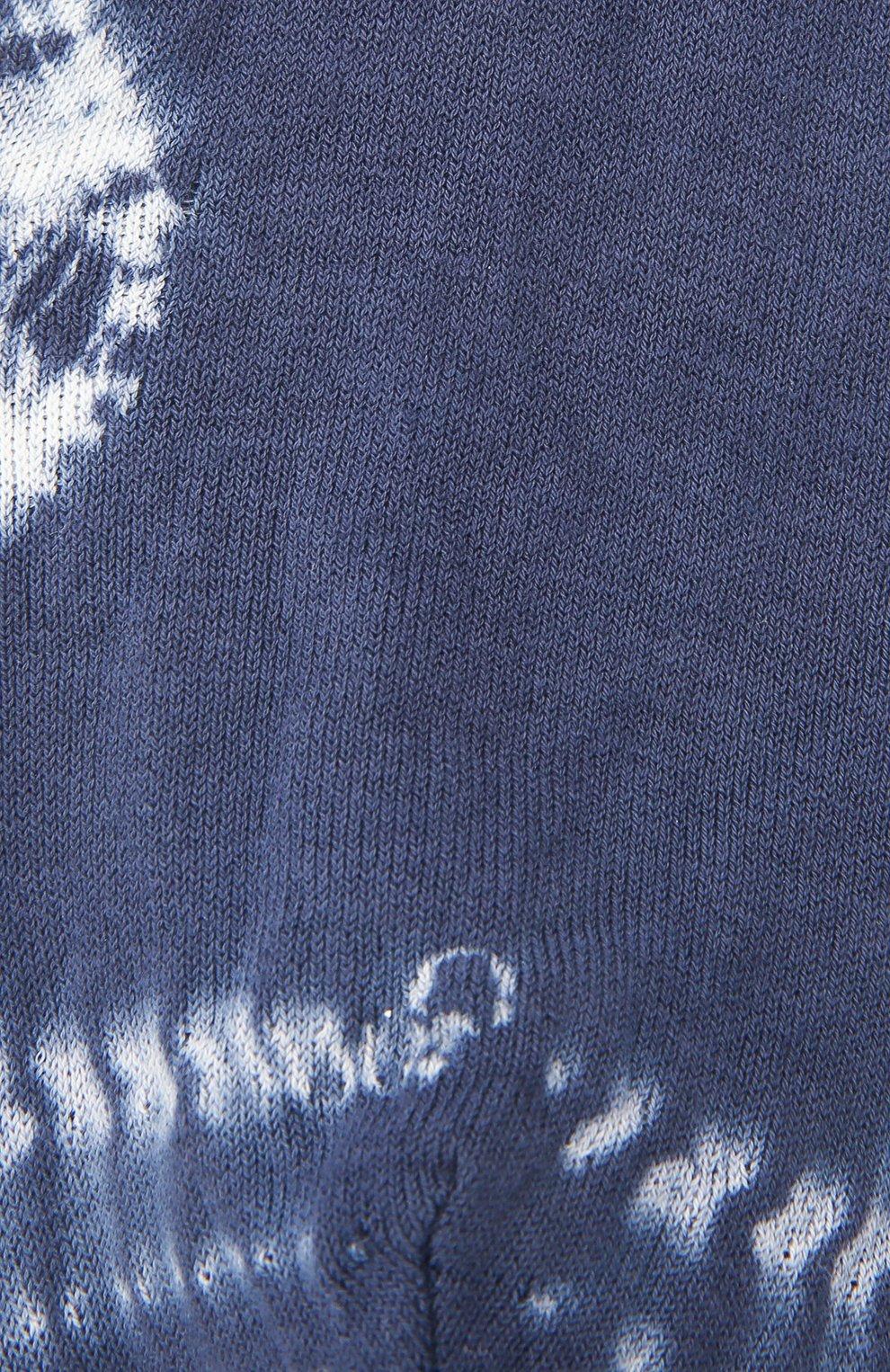 Женские хлопковые носки ANTIPAST синего цвета, арт. AS-201S   Фото 2
