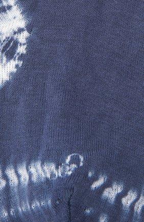 Женские хлопковые носки ANTIPAST синего цвета, арт. AS-201S | Фото 2