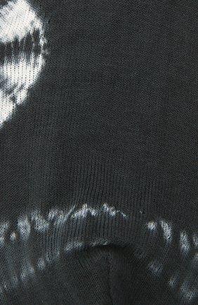 Женские хлопковые носки ANTIPAST темно-серого цвета, арт. AS-201S   Фото 2