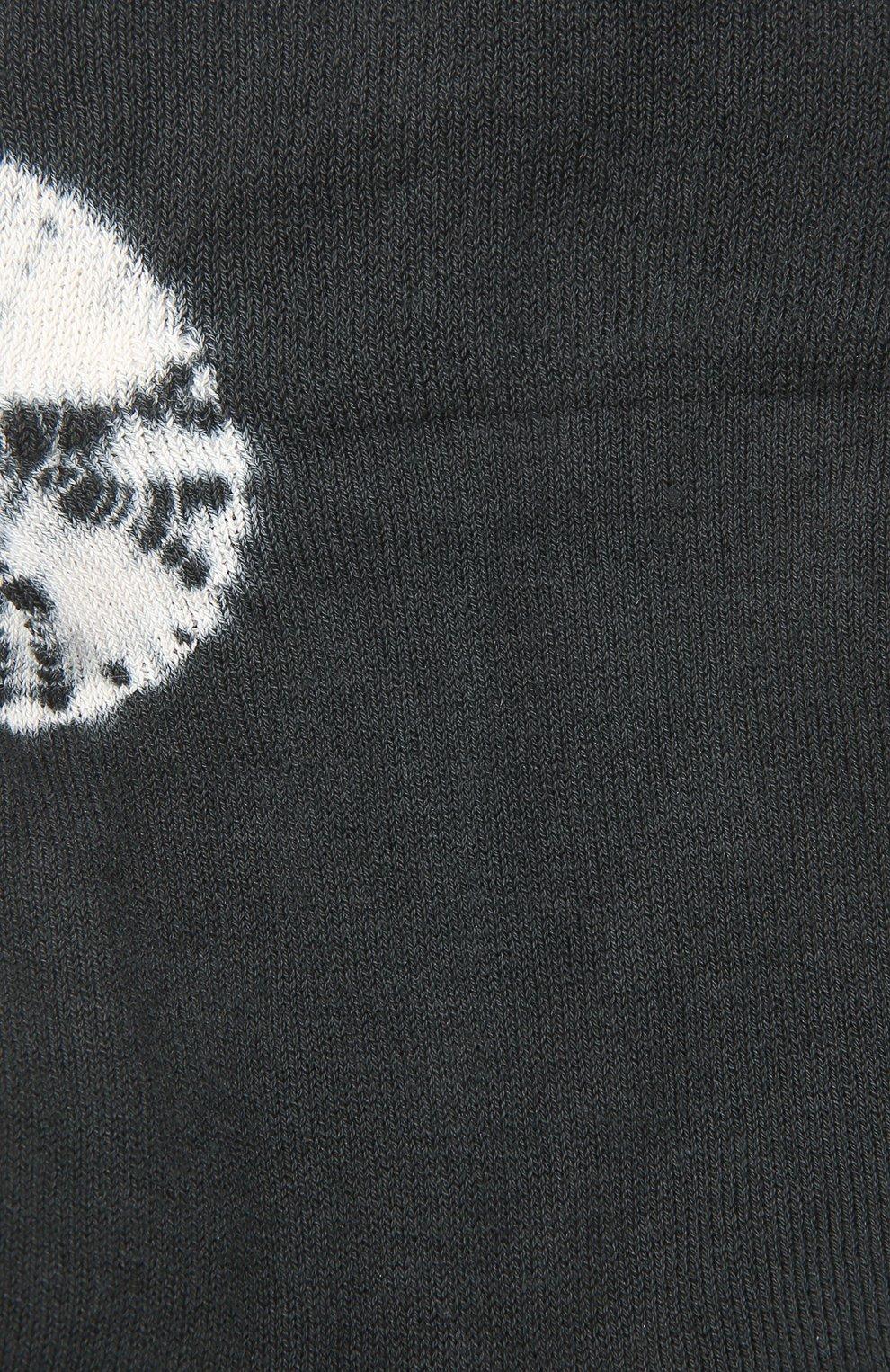 Женские хлопковые носки ANTIPAST темно-серого цвета, арт. AS-201 | Фото 2