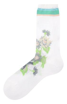 Женские хлопковые носки ANTIPAST белого цвета, арт. AM-600C | Фото 1