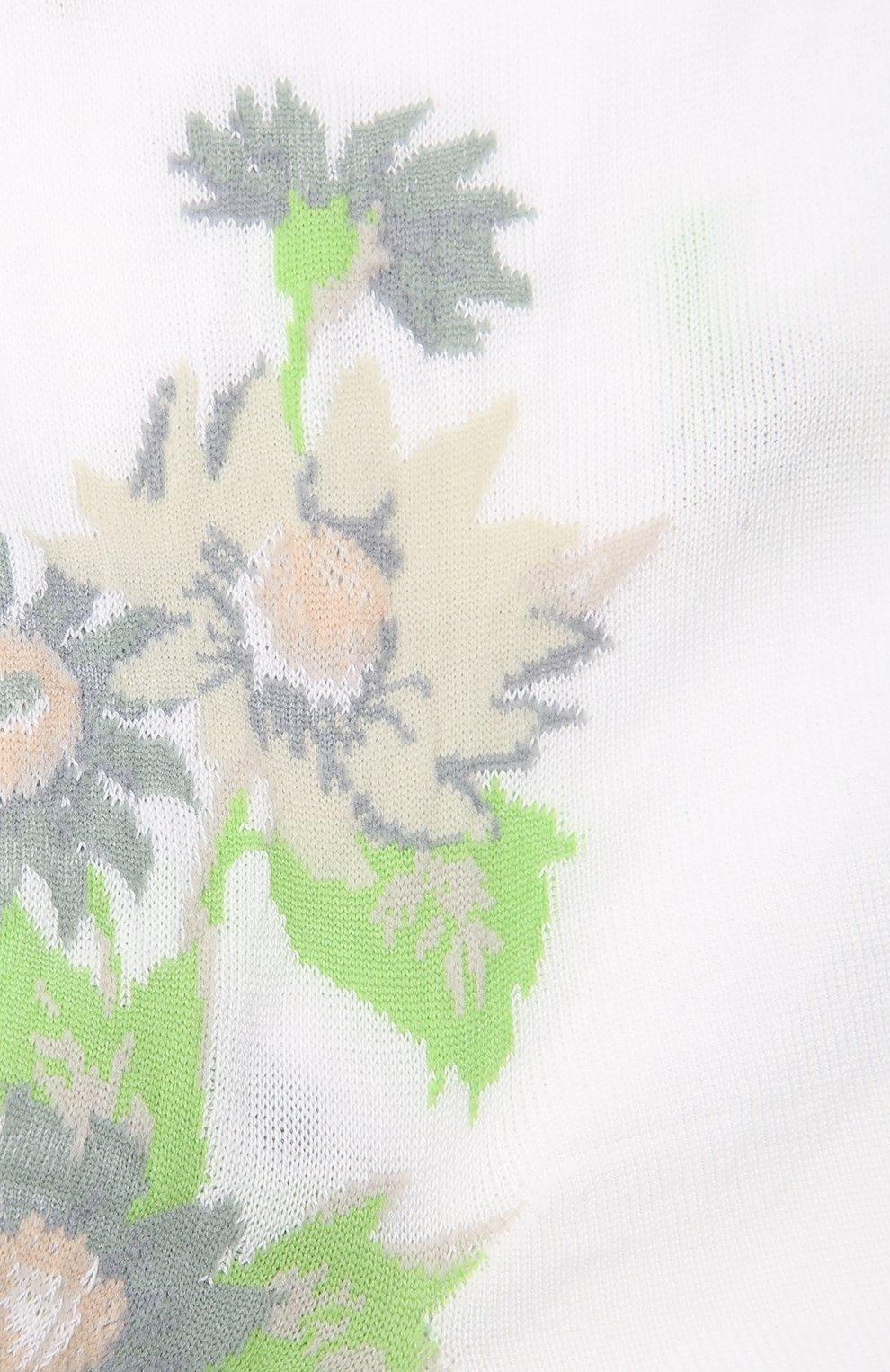 Женские хлопковые носки ANTIPAST белого цвета, арт. AM-600C | Фото 2