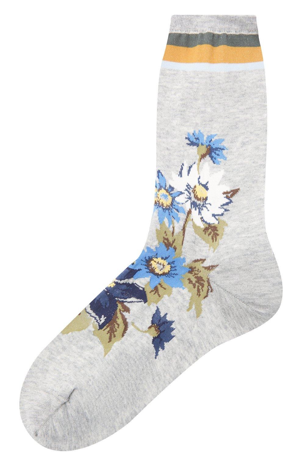 Женские хлопковые носки ANTIPAST серого цвета, арт. AM-600C | Фото 1