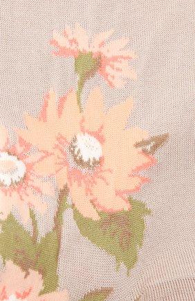 Женские хлопковые носки ANTIPAST бежевого цвета, арт. AM-600C   Фото 2